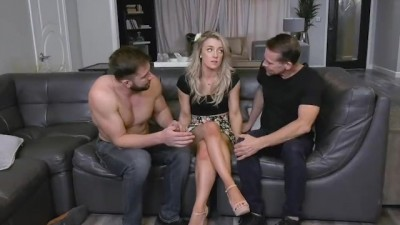 Sexy Blond Teen Sucks Off Her Perverted Step Uncle