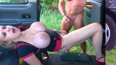 Fake Taxi Busty dirty talking blonde Squirting and Hard Fuck