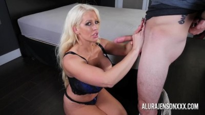 Milf Alura Jenson sucking and tited fucking