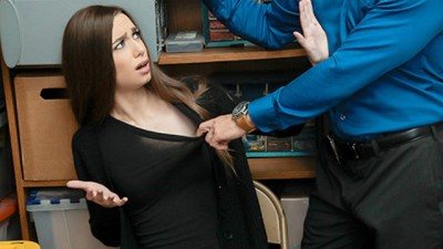 ShopLyfter - Young thief eats security straw