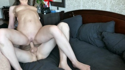 Young Couple Squirt and Cum in throat