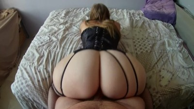 French BİG ASS PAWG incredible Sex!