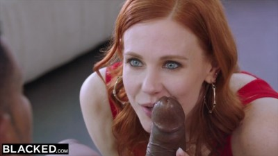 BLACKED -Maitland Ward Is First Deep Sex