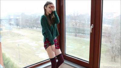 Teen Hot Mila Azul after School Solo Masturbation