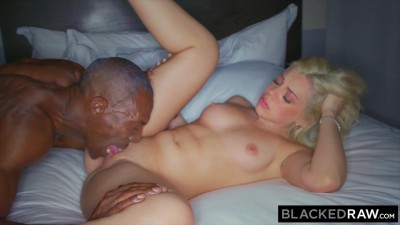 BLACKEDRAW - She was left alone for a night and BBC Fuck