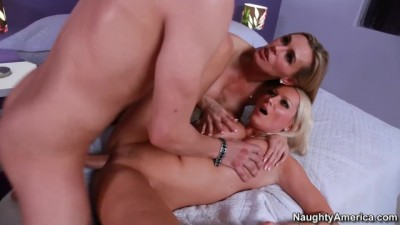 Threesome Rough Sex with Diana Doll - Tanya Tate