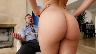 BANGBROS - Sexy Aidra Fox Takes Control Of Old Daddy