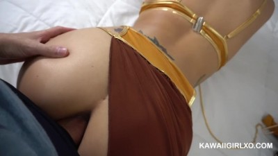 Arab Babe Ass Fucked & Blowjob - COSPLAY