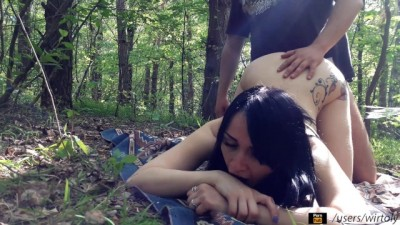 Hot Couple Real sex In Forest