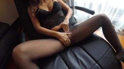 MILF Claudia Rough Fucked in Pantyhose