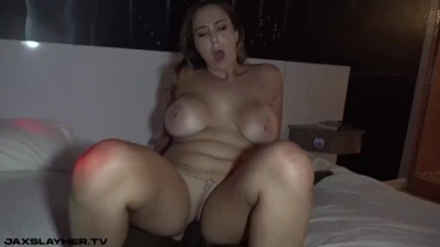 Sexy Chick Audrina Strips for BBC then Gets Fucked