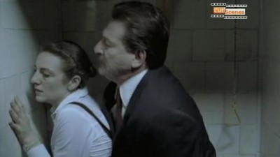 Principal forcibly fucks the young schoolgirl in the toilet