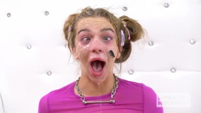 Cute petite Tiffany Watson gets rough fucked