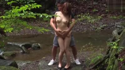 Asian Public Sex in Cumshot