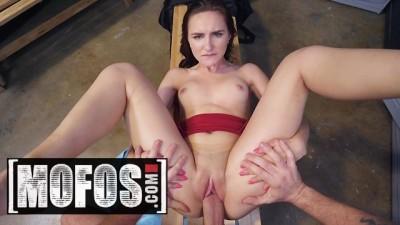 MOFOS - Petite hot Kelsey Kage gets broken by big cock