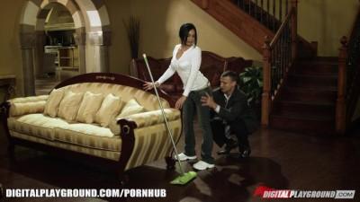 Latina Maid gets Pussy Fucked