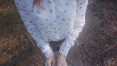Petite SchoolGirl Hot Sex in Forest