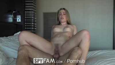 Step Sister Alyssa Cole loves brother dick
