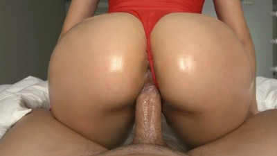 Big Assed College Teen Gets Rides Huge Cock