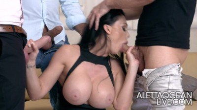 Aletta Ocean - The Superfan - Amazing Group Sex