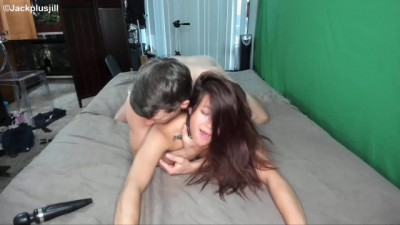 18 Year Old Asian Gets First Threesome