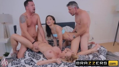 Abella Danger & Brandi Love Have a Fun Orgy