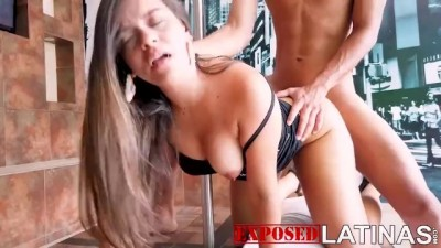 Latina model gets fucked in casting video