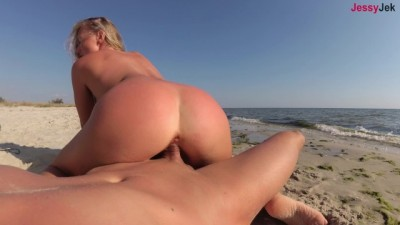 Fuck My Face On The Beach & Cum In My Pussy!
