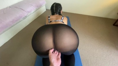 Doggystyle Sexercise POV..Caught Working Out!