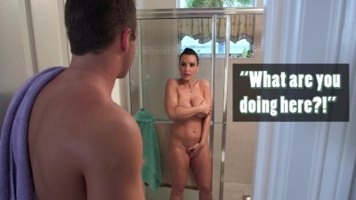 BANGBROS - Busty Lisa Ann Fucks Her Step Son then Joined Girlfriend