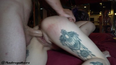 Young hottie couple sensual romatic sex