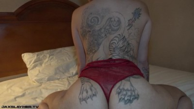 Big-ass tattooed chick takes the big black dick in - PornVibe