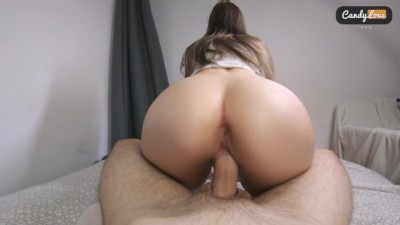 Gorgeous big-ass new girlfriend is taking the big dick in - CamBro