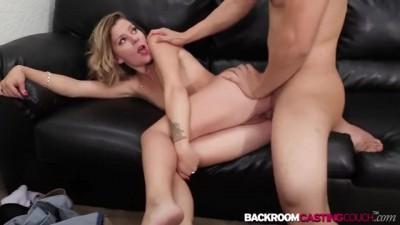Hottie Babe Scarlett Riding Cock in Casting Agency