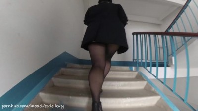 Horny schoolgirl wants to fuck as soon as possible