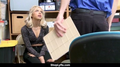 Hottie Shoplifter Gets Caught And Fucks by Security