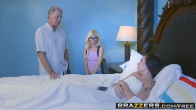 Hot And Mean - Stepsisters and Cousin Share A Bed