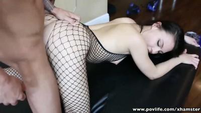 Sexy dancer girlfriend wants fucks boy friend