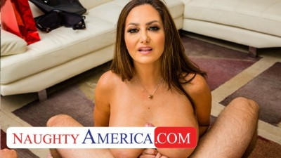 Busty Big Titted Ava Addams Comes Home with New Lingerie