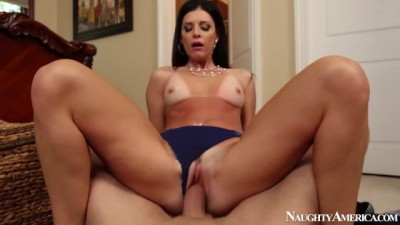 Busty MILF  Model India Summer Loves Riding Cock