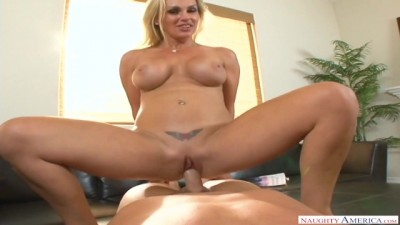 Big Booty Hottie MILF Tanya Tate Worship Huge Cock