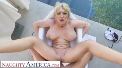 Housewife 1 ON 1 - Blonde MILF Dee Williams Releases Some Stress