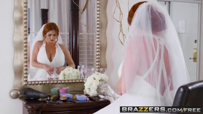 Brazzers Exxtra - Dirty bride is fucking her husband's best friend