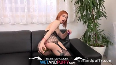 Everything Is A Sex Toy With Red head Russian Kira Roller