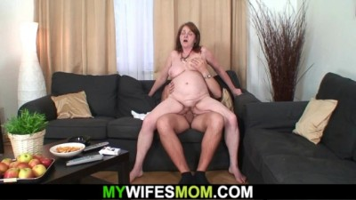 Dirty old mother in law taboo hardcore sex