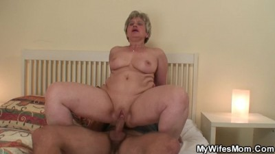 Ex-wife's mother takes my dick