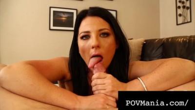 POVMania - Hottie Sweet Babe Casey Cumz Loves Blowing Cock