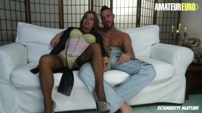 Scambisti Maturi - Whore Mature Italian Drilled By Young Stud