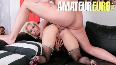 Mature Blonde Bitch Rough Anal On First Casting