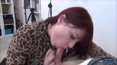 Redhead Big Butt Donna Austin POV Blowjob